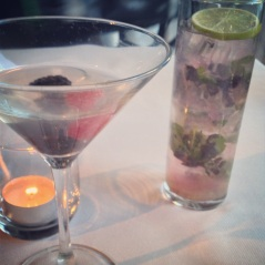 Berry-Politan and Blueberry Mojito