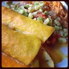 SM Farmers' Market Enchiladas