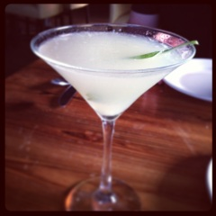 Martini de Albaca