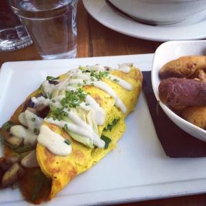 Veggie Omelet (brunch)